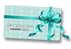 Mischief Makers Gift Cards